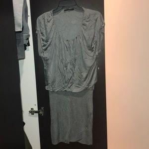 BLACK HALO MINI DRESS